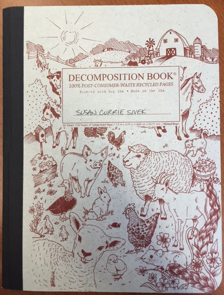 """My new """"Decomposition Book."""""""