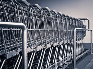 photo of shopping carts
